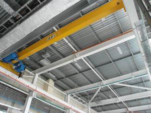 Обследование металлических конструкций покрытия