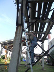 Фото 1. Инженерное обследование сооружений